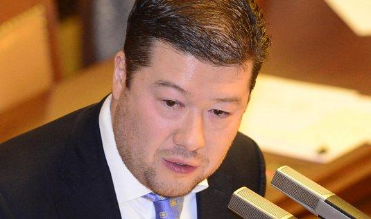 Předseda hnutí Úsvit Tomio Okamura