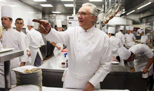 Vyhlášený šéfkuchař Alain Ducasse