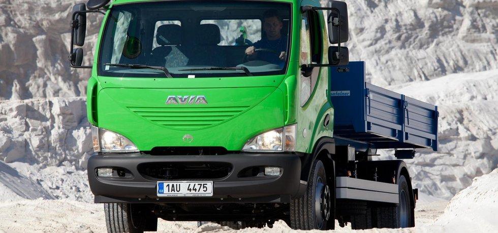 V Česku vyráběný vůz Avia.