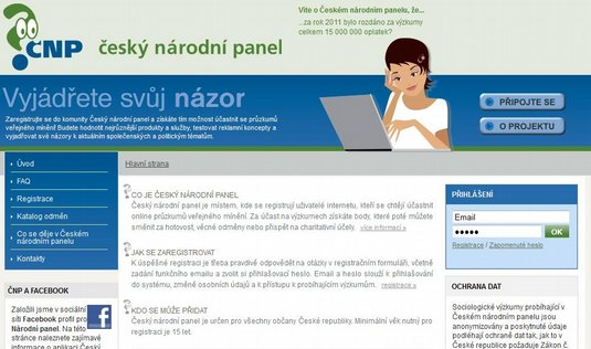 Web eskho nrodnho panelu 