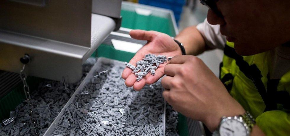 Nová továrna Lego v Číně