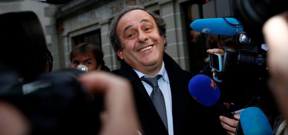 Michael Platini, bývalý šéf fotbalové UEFA, kterého dohnala k rezignaci korupční aféra