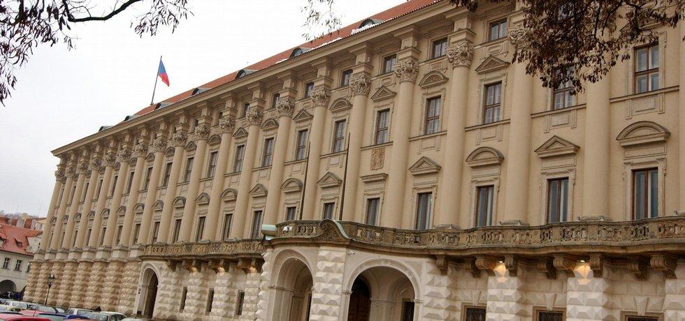 Černínský palác, sídlo ministerstva zahraničí