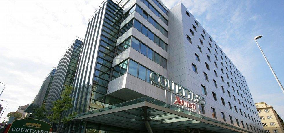 Pražský hotel Courtyard Marriott