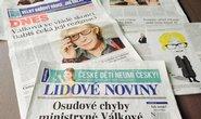 Dnes a Lidové noviny
