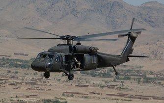 Vrtulník Black Hawk UH-60A