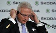 Předseda představenstva automobilky Škoda Auto Winfried Vahland informoval 20. března v Mladé Boleslavi o hospodářských výsledcích za rok 2012.
