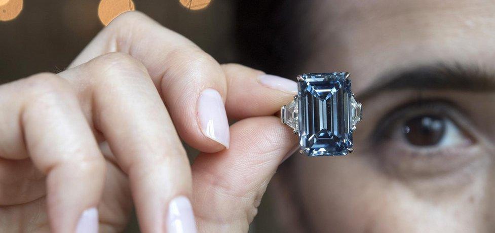 Nejdražší diamant světa Oppenheimer Blue