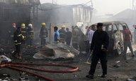 Bombový atentát na poutníky v Bagdádu zabil nejméně 17 lidí