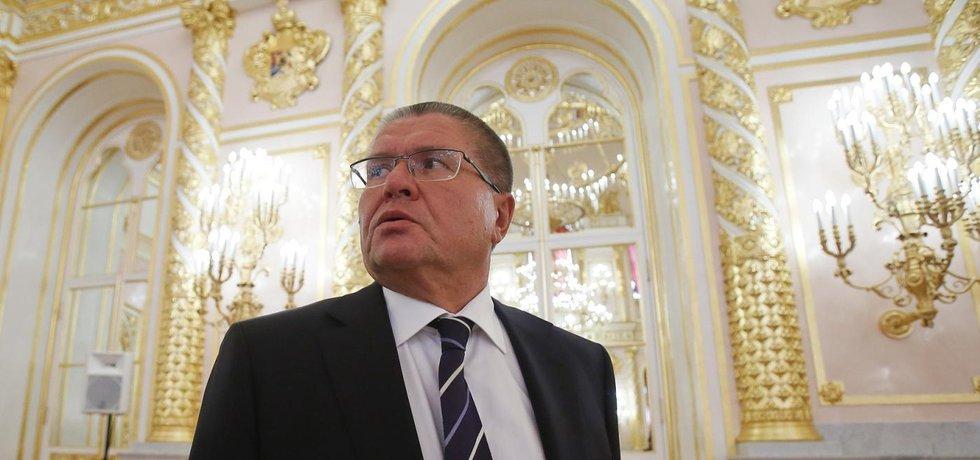 Ruský ministr hospodářství Alexej Uljukajev