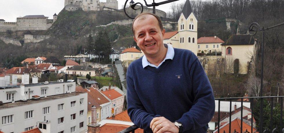 primátor Trenčína Richard Rybníček