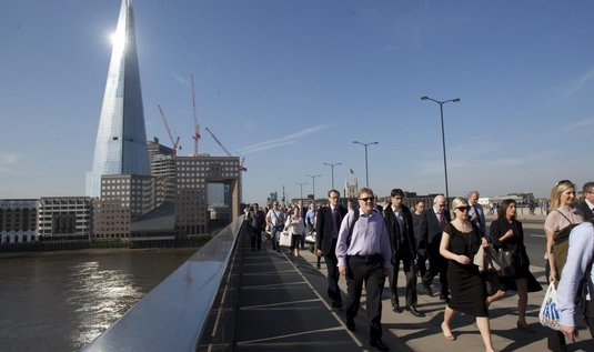 The Shard v Londýně (architekt Renzo Piano)