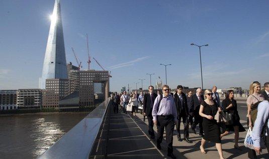 The Shard v Londýně (architekt Renzo Piano)