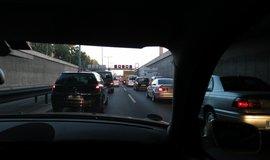Dopravní zácpa v Berlíně (Zdroj: Flickr)