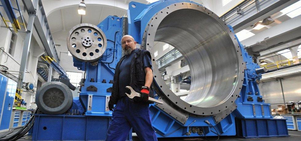 Nejtěžší průmyslová převodovka z plzeňské firmy Wikov Gear