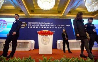 slavnostní otevření banky AIIB, ilustrační foto