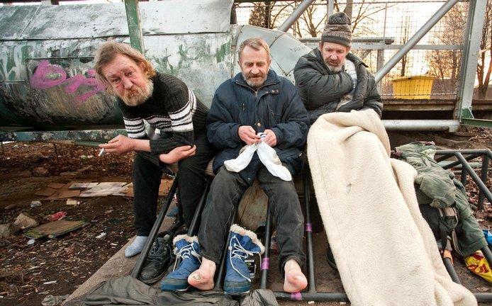 Bezdomovci, ilustrační foto