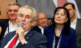 Daniel Beneš se zúčastnil oslav vítězství Miloše Zemana