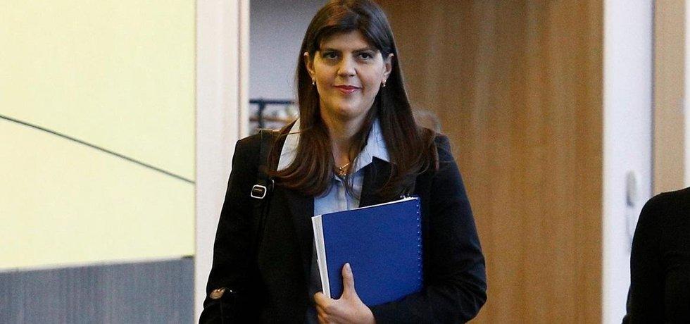 Rumunská právnička Laura Codruta Kövesiová