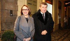 Andrej Babiš a Adriana Krnáčová