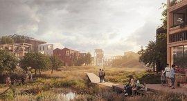 Nový trend stavebnictví: dřevěná čtvrť bez betonu. V domech mají hnízdit ptáci i netopýři