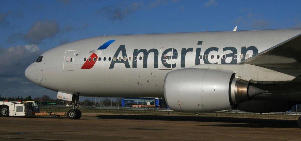 Letadlo American Airlines, ilustrační foto