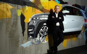 Andre Wehner, šéf digitalizace a rozvoje Škoda Auto