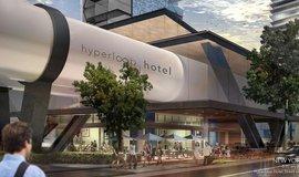 Návrh projektu Hyperloop hotel