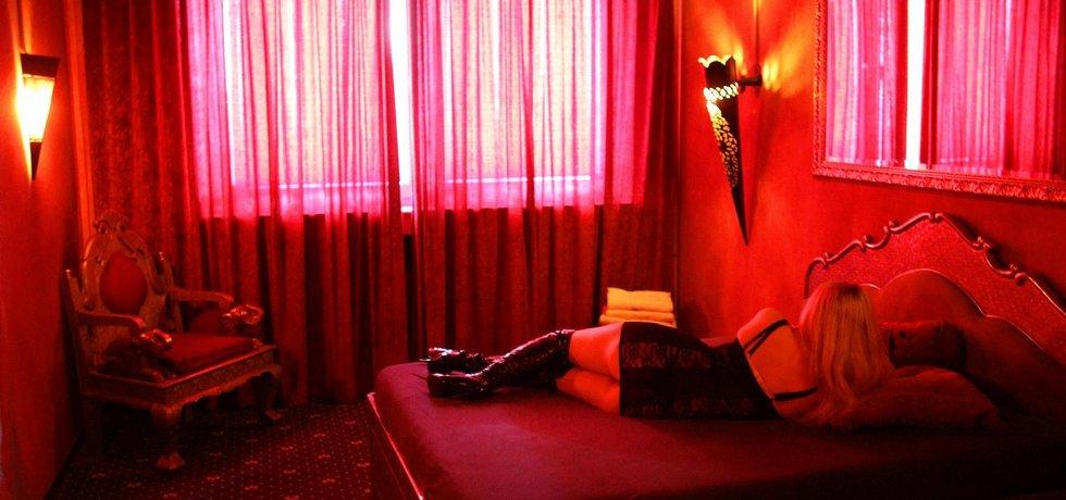 Prostitutka - ilustrační foto.