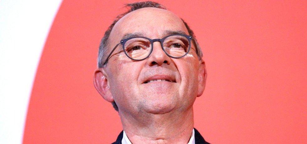 Politik SPD Norbert Walter-Borjans, ilustrační foto
