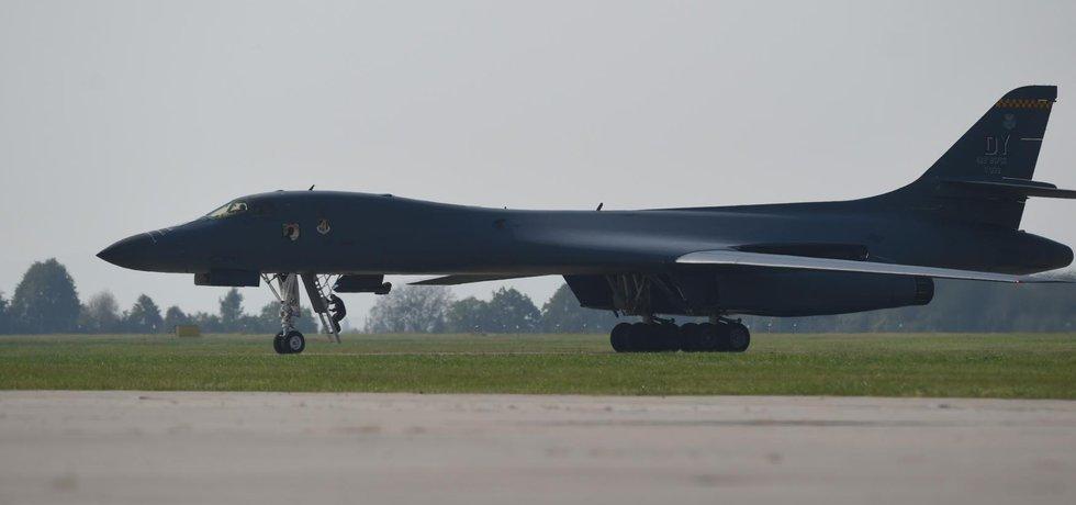 Americký bombardér B-1B Lancer (Zdroj: čtk)