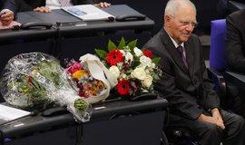 Wolfgang Schäuble (CDU) byl zvolen do čela německého parlamentu