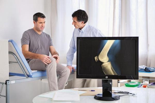 praktik, ortopedie, koleno, kloub, rentgen, rtg