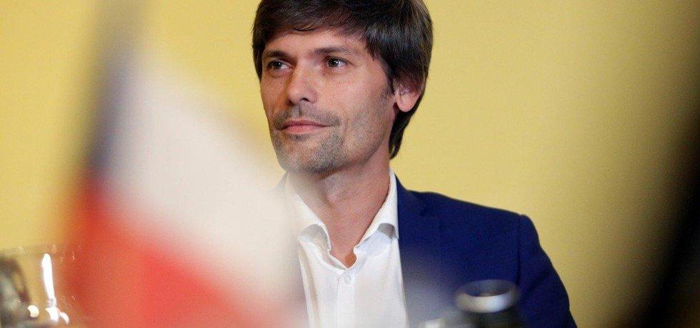 Kandidát na prezidenta Marek Hilšer