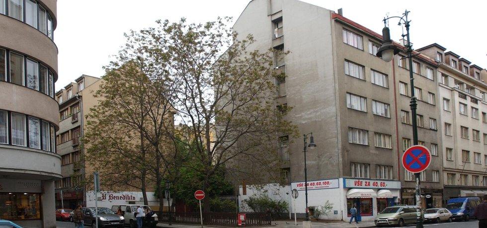 Dlouhá ulice v Praze.