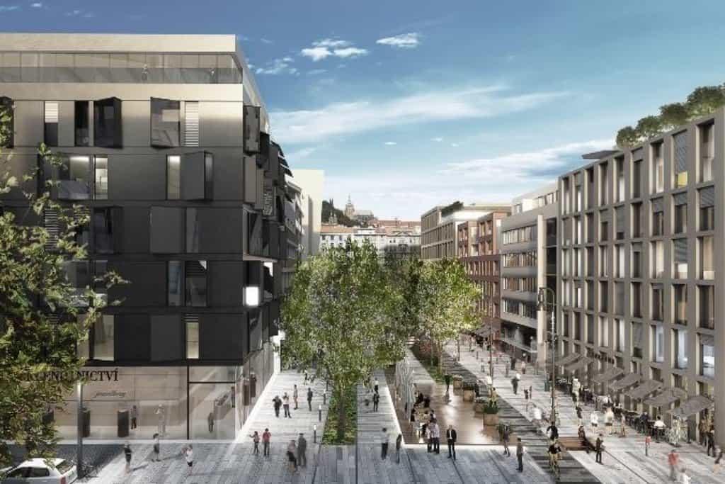 Nová smíchovská čtvrť má mít povolení EIA na podzim. Lidé si v ní přejí obchody i zeleň