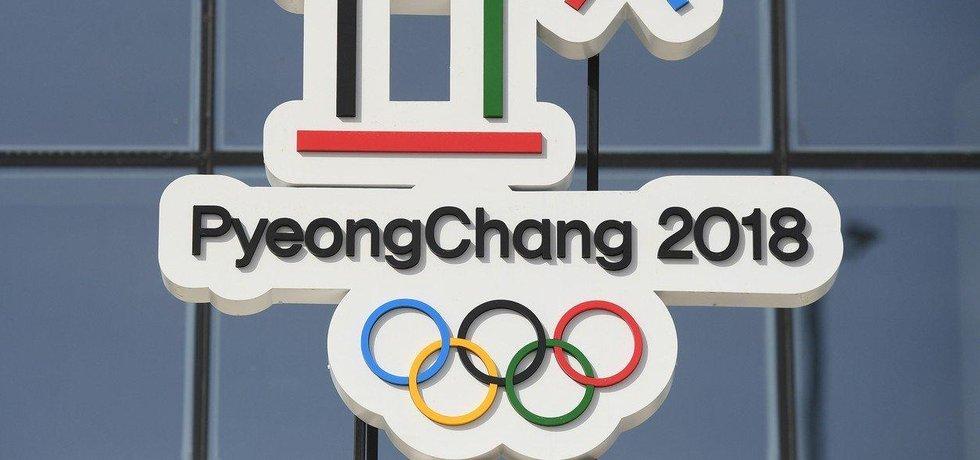 Logo zimních olympijských her v jihokorejském Pchjongčchangu