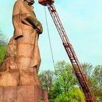Socha spisovatele Ivana Franka