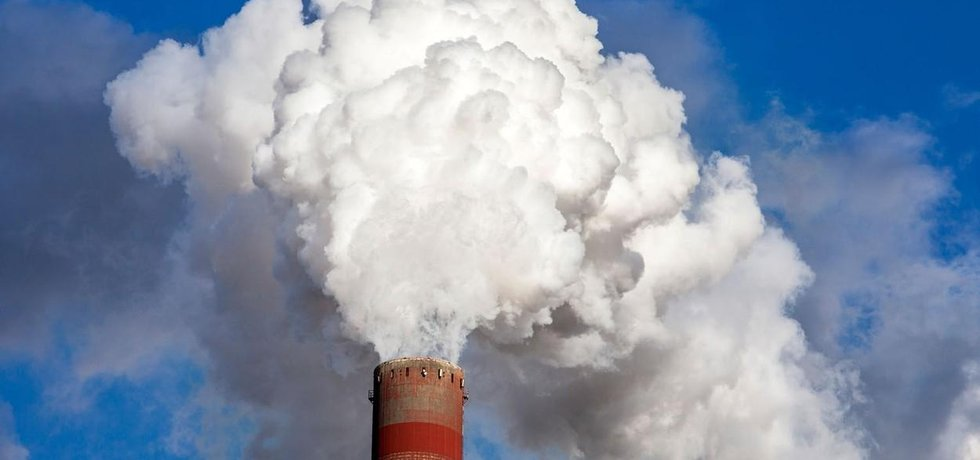 Znečišťovatel ovzduší, ilustrační foto