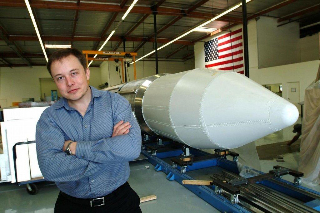 Elon Musk a jeho raketa SpaceX