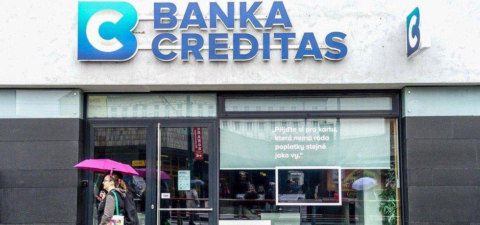 Pobočka banky Creditas