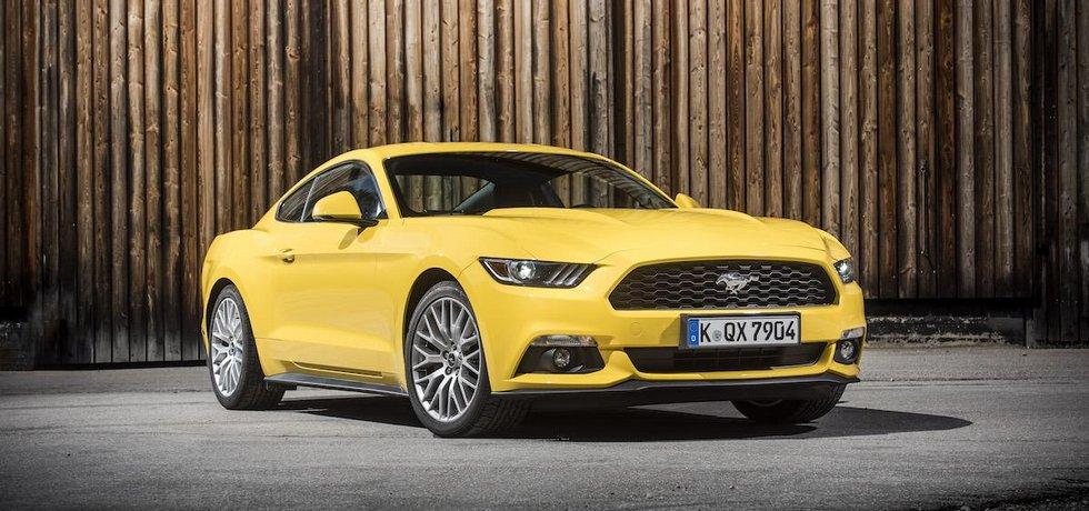 Nejprodávanějším sportovním vozem v ČR byl v dubnu 2016 Ford Mustang