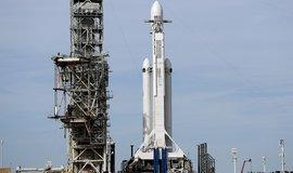 Falcon Heavy před startem