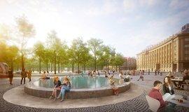 Vizualizace nové podoby Vítězného náměstí