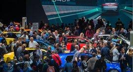 Frankfurtský autosalón přilákal v roce 2017 800 tisíc návštěvníků, ilustrační foto