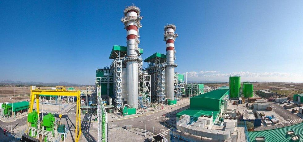 Turecká paroplynová elektrárna Egemer