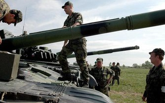 Tanky T-72 české armády,  ilustrační foto