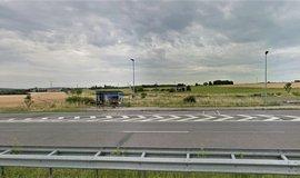 Zastávka Řitka na dálnici D4