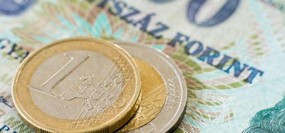 Maďarsko, euro, forint
