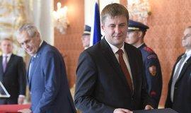 Prezident Miloš Zeman jmenoval Tomáše Petříčka (ČSSD) ministrem zahraničí